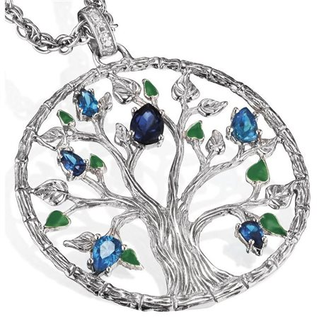 JULIE JULSEN jj9212-1 tree of life 4 elements water collection