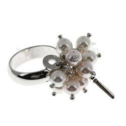 Cesare Paciotti jpan0419b anello argento perle