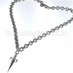 CESARE PACIOTTI jpcl0485b silver necklace with pendent