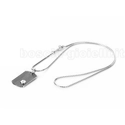 CESARE PACIOTTI jpcl0975b chain with pendent silver