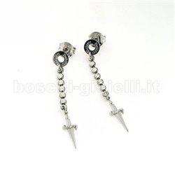 Cesare Paciotti jpor0809d orecchini argento pendenti