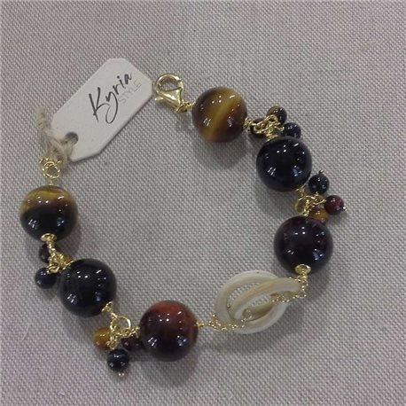KYRIA bracelet kbr3153 with stones