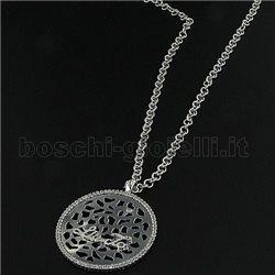 LIU.JO lj185 silver chain with pendent