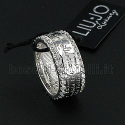 Liu Jo anello folly love luxury lj226 argento