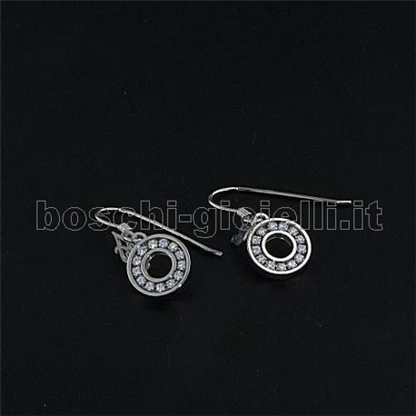 LIU.JO lj336 silver earrings hoops new