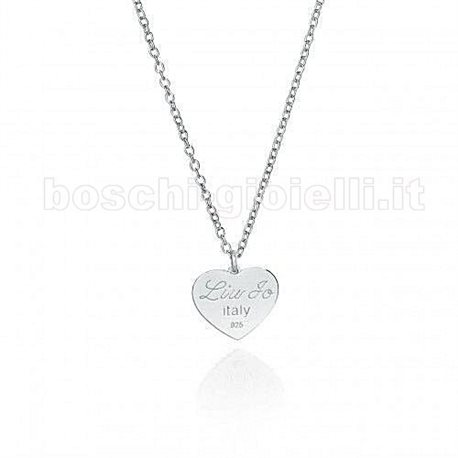 LIU.JO lj371 chain with heart pendent love in silver