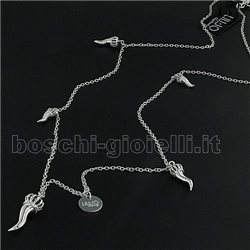 LIU.JO lj394 necklace with lucky charms in silver
