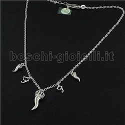 Liu Jo girocollo cornetti lj395 argento
