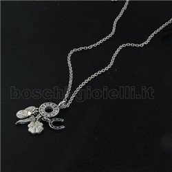 LIU.JO lj406 chain with pendents lucky charms