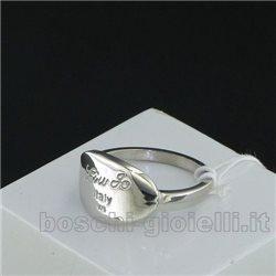 Liu Jo anello collezione identity lj509 argento