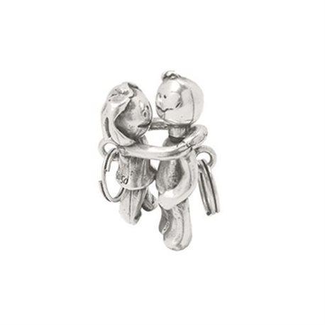UNO DE 50 lla0008met key ring boy and girl collection