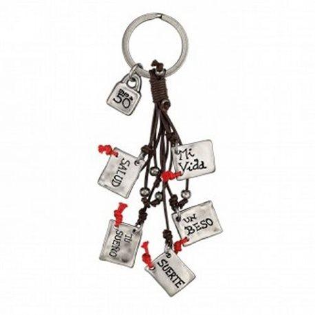 UNO DE 50 lla0182marmtlou lucky charm key ring