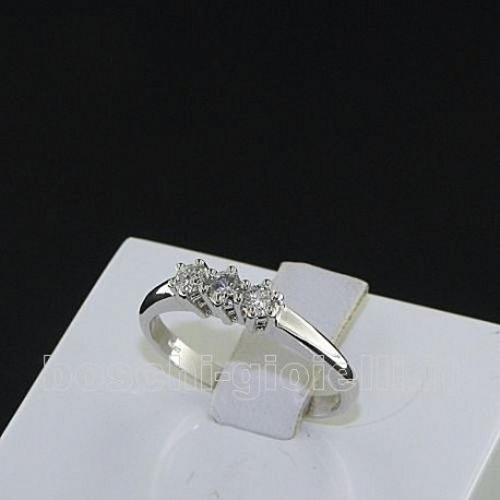 OUR CREATIONS ring trilogy diamonds mon3387