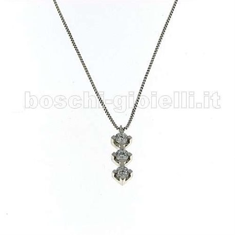 OUR CREATIONS chain with pendent trilogy collection mon3398