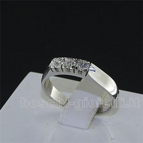 OUR CREATIONS  ring trilogy diamonds mon3404