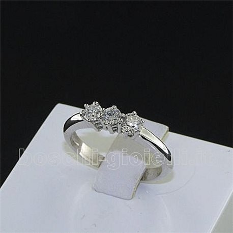 OUR CREATIONS ring trilogy diamonds n599mont3387