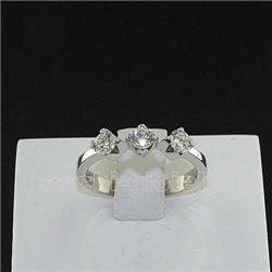 OUR CREATIONS ring trilogy diamond n634mont3401