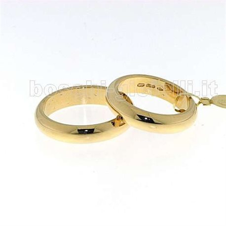 UNOAERRE 100afn1 classic wedding ring yellow gold 10 grams