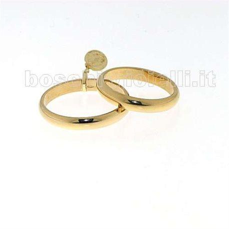 Unoaerre 40afn1 fede classica oro giallo 4 grammi