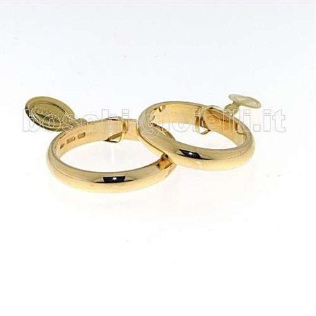 UNOAERRE 60afn1 classic wedding ring yellow gold 6 grams