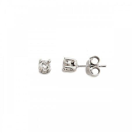 Mood ear cuffs or-mp-5815 orecchino argento punto luce con zircone