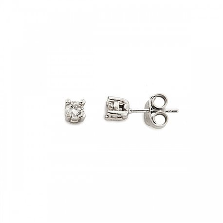 MOOD EAR CUFFS or-mp-5815 solitaire silver earring with zircon