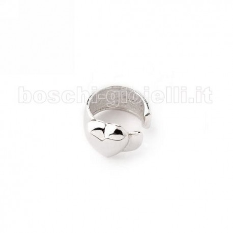 MOOD EAR CUFFS or-tm-928sx silver heart be cool collection