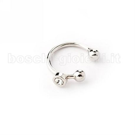 MOOD EAR CUFFS or-tp-1444 solitaire silver earring be cool collection