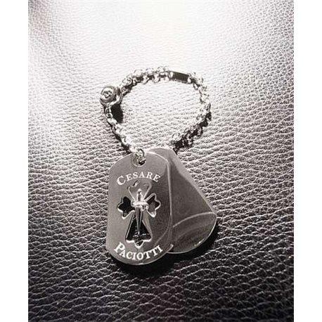 CESARE PACIOTTI pc0112b silver key ring