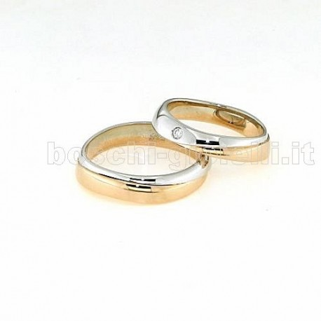 Polello pol2497 wedding rings