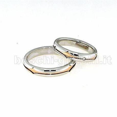 Polello pol2499 wedding rings