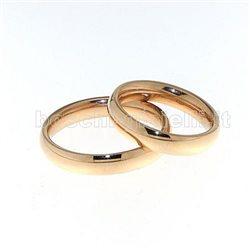 UNOAERRE 40afc1 comfort wedding rose gold 4mm height