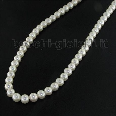 Cultured pearls necklace freshwater rraa2t7r