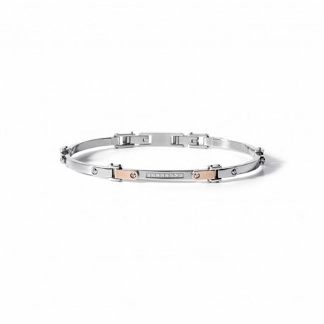 COMETE ubr499 bracelets senior gold steel diamond