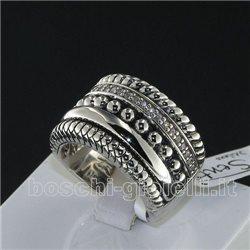 ti sento milano 1835zi anello argento collezione terra