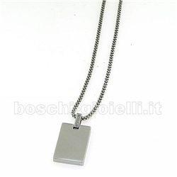 Comete ugl349 catena collezione senior acciaio uomo