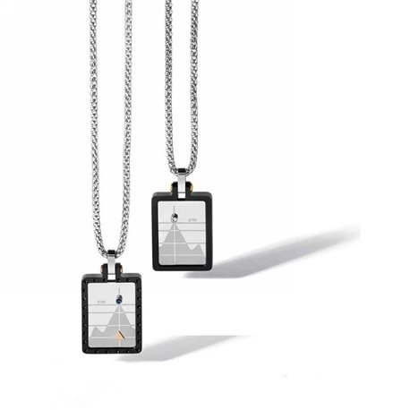 COMETE ugl532 chain with pendent traguardi man collection