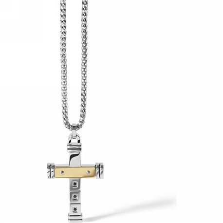 COMETE ugl539 chain with pendent family cross collection