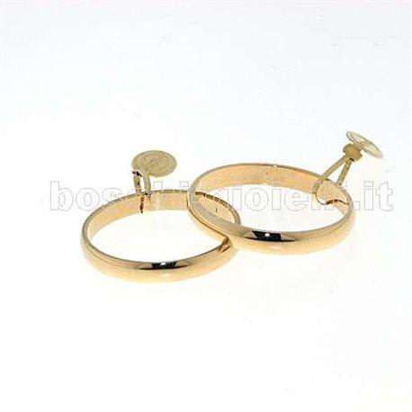 UNOAERRE 30afn1 classic wedding ring yellow gold 3 grams