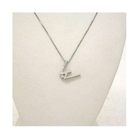 INITIAL w jewelry letter collection gold diamond