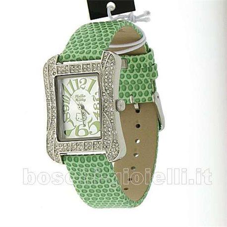 HELLO KITTY zr24758 watches girls slimline green