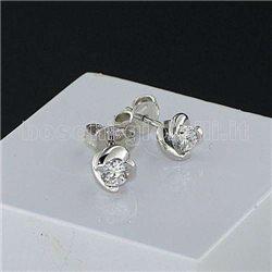 Nostre creazioni orecchini punto luce diamanti mon3867