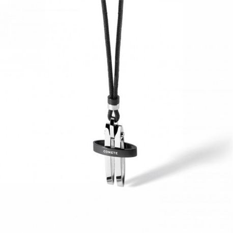 COMETE ugl487 cross pendent pins collection in steel