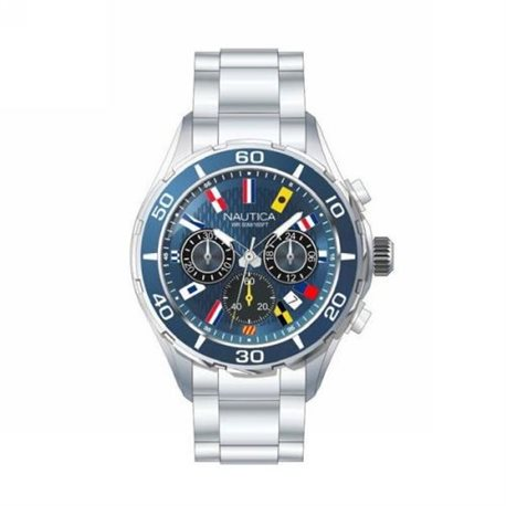 NAUTICA nad14535g watches nct 16 flags chrono