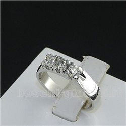OUR CREATIONS ring trilogy diamonds bosmon3405-1