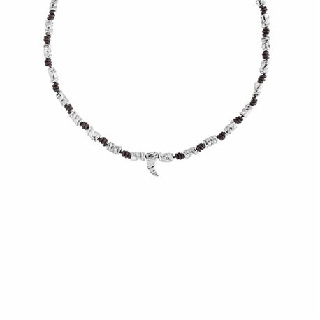 UNO DE 50 col1093mtlmar0u necklace white fang