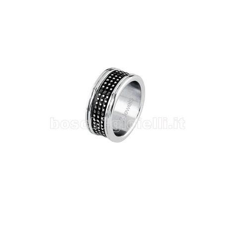 2 Jewels 221042 anello acciaio uomo