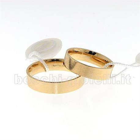 Wedding rings Unoaerre 50-afc-111 wedding rings 5mm yellow gold