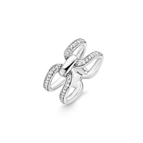 TI SENTO MILANO silver jewellery ring 12059zi
