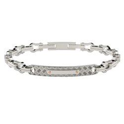 COMETE ubr783 steel man bracelet texture collection